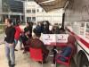 Türk Kızılayı'nın yıl boyunca sürdürdüğü kan bağışı kampanyasına Meslek Yüksekokulumuzca destek verildi.
