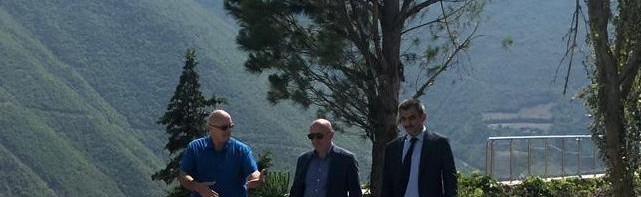 Artvin Milletvekili Sayın Erkan BALTA Üniversitemiz Botanik Bahçesini Ziyaret Etti