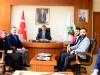 Rektörümüz Prof. Dr. Fahrettin Tilki, Artvin Ülkü Ocakları İl Teşkilatını Kabul Etti