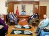Belediye Başkanı Kocatepe ve AK Parti İl Yönetiminden Rektörümüz Prof. Dr. Fahrettin Tilki'ye Ziyaret
